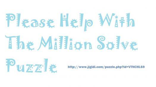Million Solve Puzzle