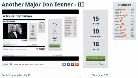 Tenners galore for Major Don