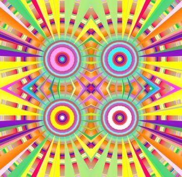 Four Pinwheels