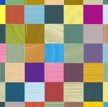 Corrugated Squares