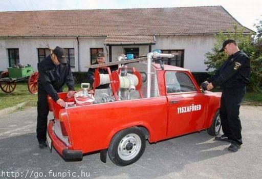 A Hungarian Fire Truck