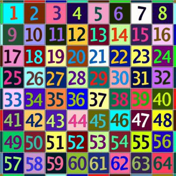 A Bit of Help For Sixty-Four Piece Puzzle Solvers