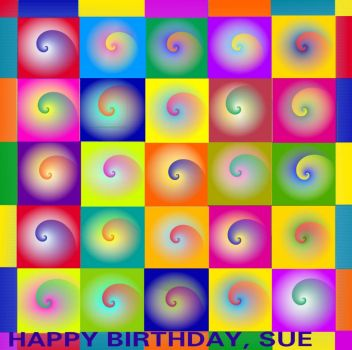 ***HAPPY BIRTHDAY, SUE*** :-)