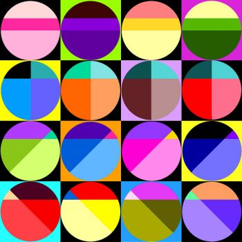 Brighter Version of Yesterday's Circles