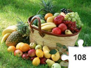 Jigsaw puzzle - Eet fruit