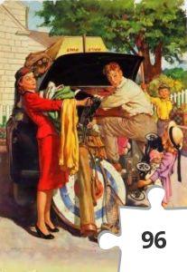 Jigsaw puzzle - we gaan op vakantie
