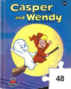 Jigsaw puzzle - Casper and Wendy