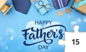Jigsaw puzzle - Happy Father's Day love