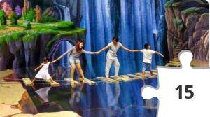 Jigsaw puzzle - Harga Tiket Masuk 3D Amazing Art World Bandung
