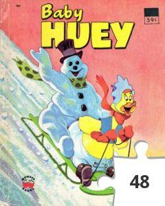 Jigsaw puzzle - Baby Huey