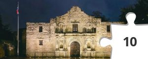 Jigsaw puzzle - The Alamo by TCEA