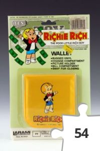 Jigsaw puzzle - Richie Rich Wallet, yellow variant