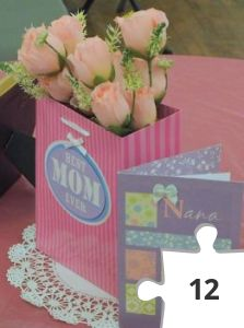 Jigsaw puzzle - mothers day bag crop