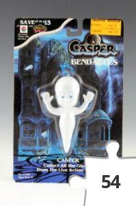 Jigsaw puzzle - Casper Bendables Casper figure