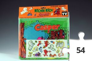 Jigsaw puzzle - Casper in the Enchanted Forest sticker board