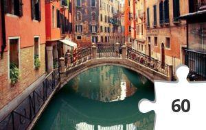 Jigsaw puzzle - A man, a plan, a canal - Venice!