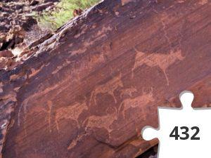 Jigsaw puzzle - twyfelfontein