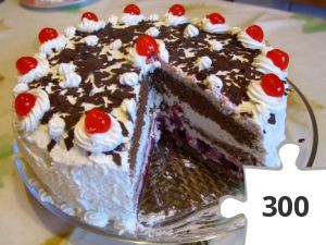 Jigsaw puzzle - The Cake