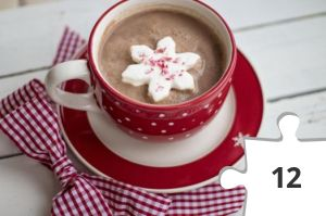 Jigsaw puzzle - Hot Chocolate by TerriC from Pixabay