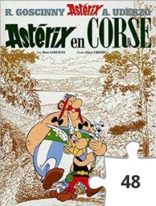 Jigsaw puzzle - Asterix en corse