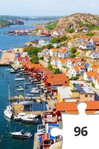 Jigsaw puzzle - Fjallbacka Sweden