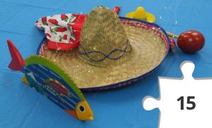 Jigsaw puzzle - Cinco de Mayo, decor