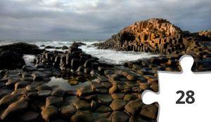 Jigsaw puzzle - chaussé des géants