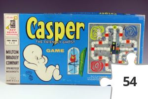 Jigsaw puzzle - Casper the Friendly Ghost game