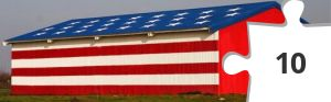 Jigsaw puzzle - Patriotic Barn by Motophoto847