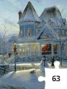 Jigsaw puzzle - Sneeuw