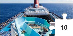 Jigsaw puzzle - Cruise Ship Water Slide