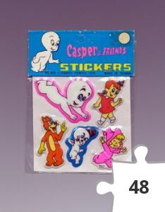 Jigsaw puzzle - Casper and Friends Three Dimensional Stickers