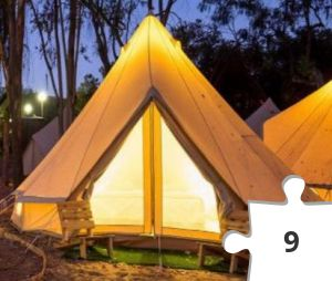 Jigsaw puzzle - Glamping by The Hotel Factory