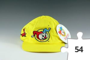Jigsaw puzzle - Harvey Snapback Hat in yellow