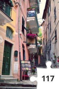 Jigsaw puzzle - monterosso italy