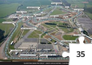 Jigsaw puzzle - New-Silverstone-Grand-Prix-Circuit-Image-with-Corner-Names