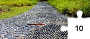 Jigsaw puzzle - Reflexology Path at Singapore Botanic Gardens by Alantankenghoe