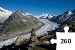 Jigsaw puzzle - jungfrau-aletsch suisse