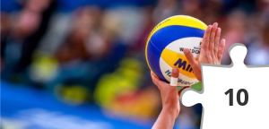 Jigsaw puzzle - Volleyball