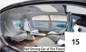 Jigsaw puzzle - Self Driving Cars of the Future