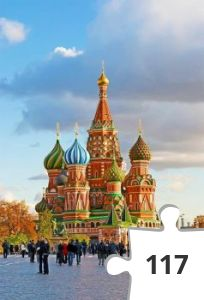 Jigsaw puzzle - moscow