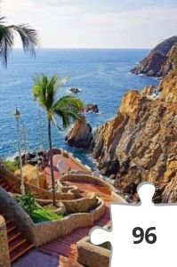 Jigsaw puzzle - acapulco mexico