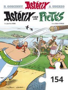 Jigsaw puzzle - Asterix chez les pictes
