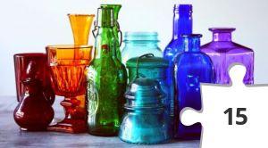 Jigsaw puzzle - Bottles & Insulator by Sharon McCutcheon