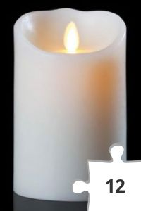 Jigsaw puzzle - Flameless Candle- Battery Operated
