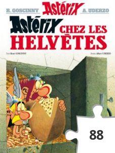 Jigsaw puzzle - Asterix chez les helvetes