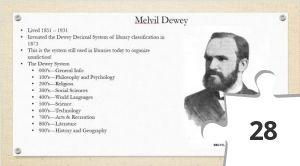 Jigsaw puzzle - Melvil Dewey