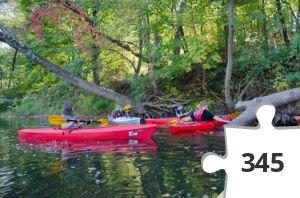 Jigsaw puzzle - LoHudders Kayaking