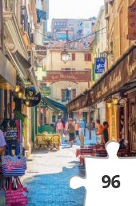 Jigsaw puzzle - cannes france
