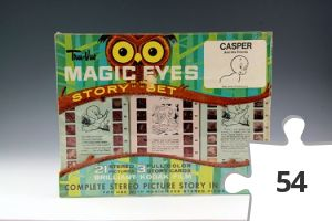 Jigsaw puzzle - Casper Tru-Vue Magic Eyes Story Set